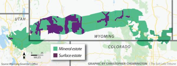 Wyoming may soon own a chunk of northern Utah