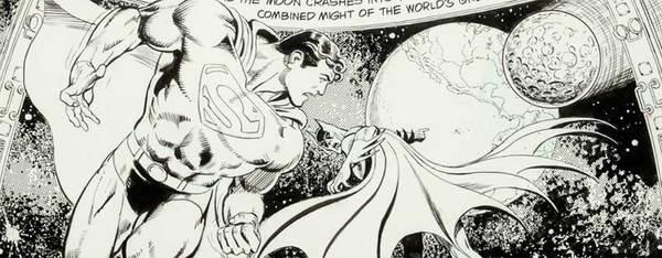 Jose Luis Garcia Lopez - DC Calendar Original Comic Art