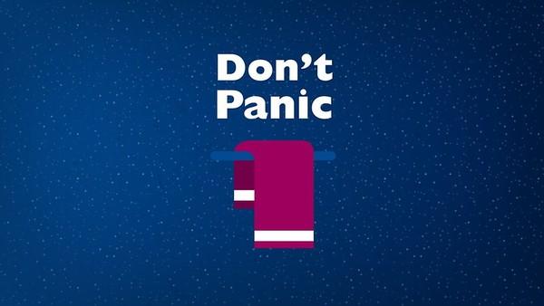 No olvides tu toalla, todo autoestopista galáctico debe llevar una.