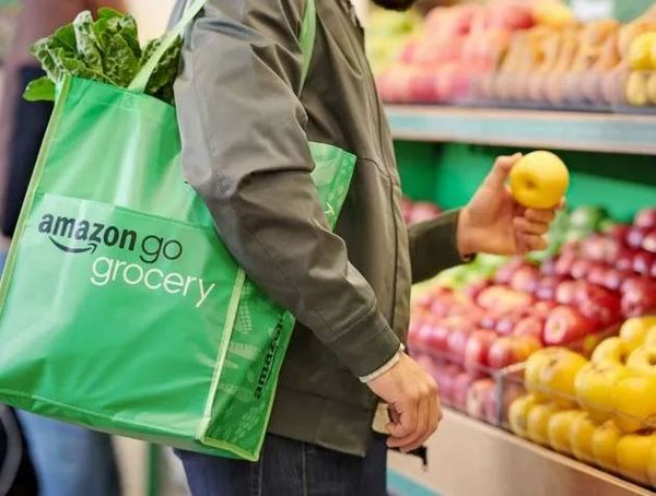 ^ Free bags at the Go grocery store