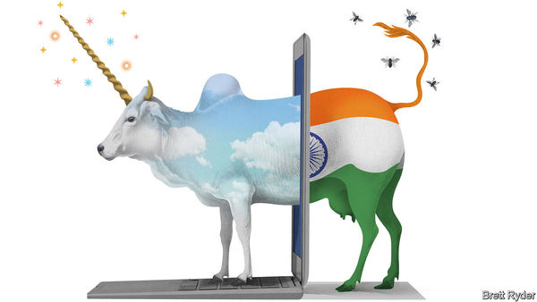Silicon subcontinent - India's booming startup scene is showing signs of trouble