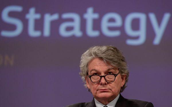 Eurocommissaris Thierry Breton