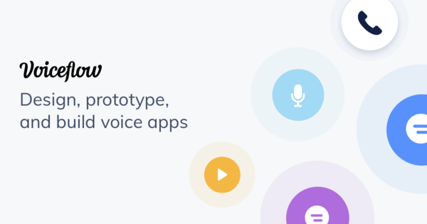 Design, prototype, and build voice apps.
