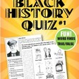 Black History Quiz #1 - Can you name these inventors?   TpT
