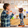 Education robots offer leg-up to disadvantaged students