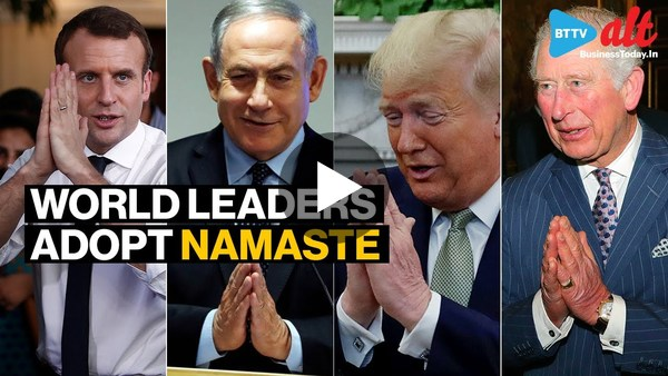 Amid coronavirus fear, world leaders adopt 'Namaste'