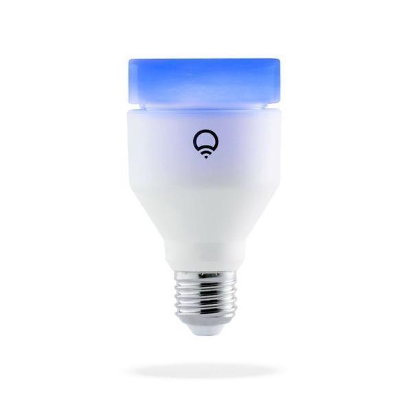 A LIFX A19 smart lightbulb