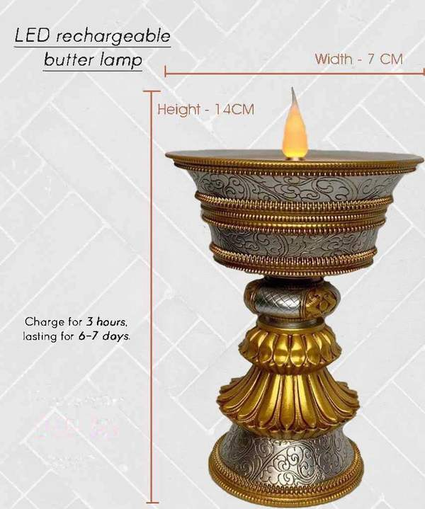 LED Rechargeable Butter Lamp