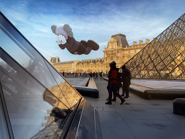 KAWS Just Entered the Augmented Reality Game With Giant Virtual Sculptures That You Can See—and Buy—in 11 Major Cities
