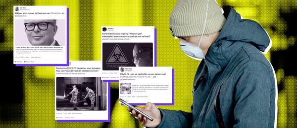 Flinke stijging van onbetrouwbaar nieuws over coronavirus op Twitter