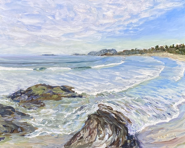 Wickininnish Beach in the Pacific Rim Park Reserve study by Terrill Welch