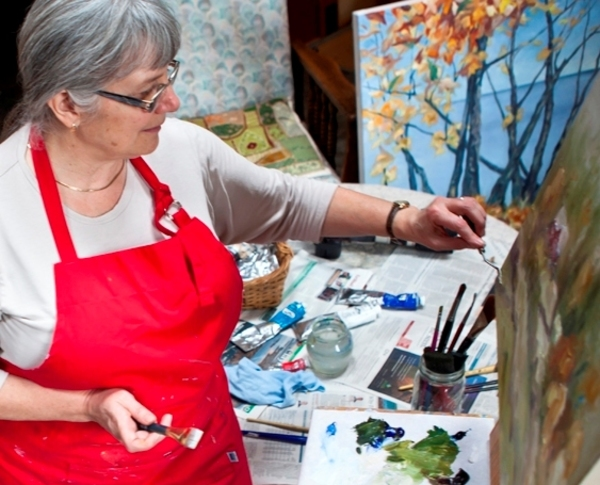 Beauty of Oils Art Classes with Canadian Contemporary Landscape Artist Terrill Welch