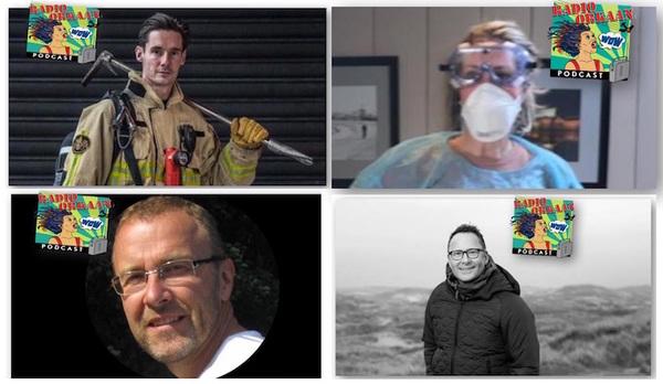 Een brandweer, arts ouderengeneeskunde, fotograaf en huisarts...