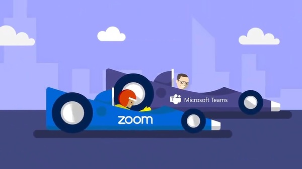 Microsoft Teams is feeling threatened by Zoom video conferencing solution