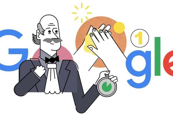 Hygiène. Google rend hommage à Ignace Semmelweis, le médecin hongrois pionnier du lavage des mains