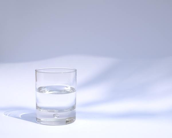 Ah, the age-old glass half-full. Or is it half-empty? I always forget.