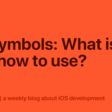 SF Symbols: What Is It, And How To Use?