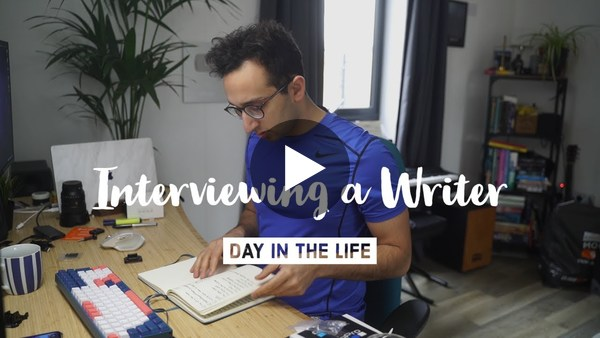 Interviewing a Writer // Day in the Life VLOG