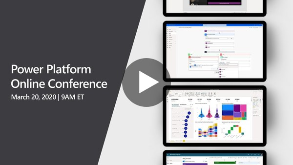 Microsoft Power Platform Online Conference 2020