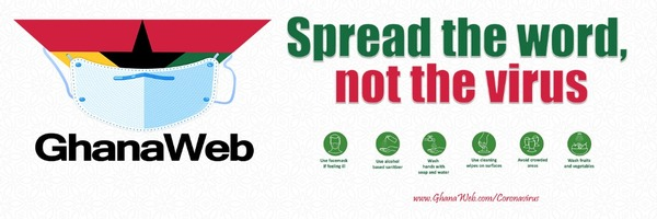 GhanaWeb's sensitization campaign against coronavirus