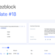Tezblock: Contract support & governance improvements