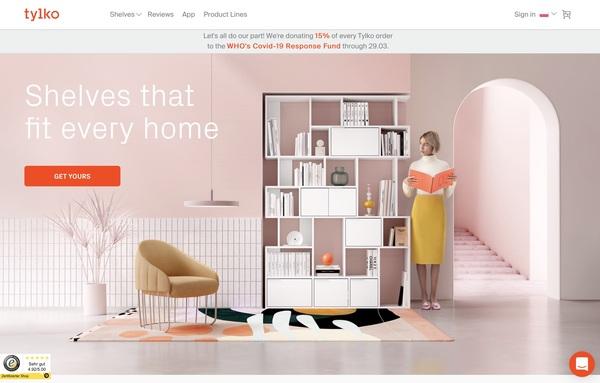 """Tylko"" to innowacyjna marka meblowa e-commerce"