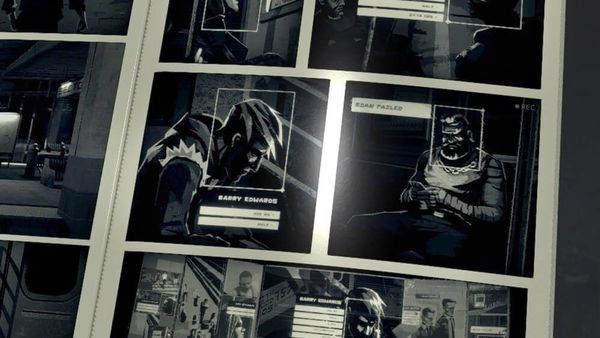 Cyberpunk noir takes place within pages of a digital comic book