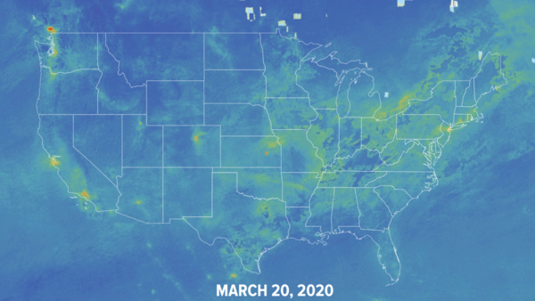 Coronavirus Has Slashed Global Air Pollution. This Interactive Map Shows How.