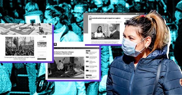 Extreemrechtse en populistische media beschuldigen vluchtelingen van ziekteverspreiding