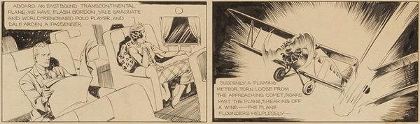 Alex Raymond - Flash Gordon Original Comic Art
