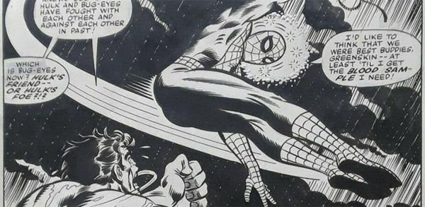 Rich Buckler - Spider-Man Original Comic Art