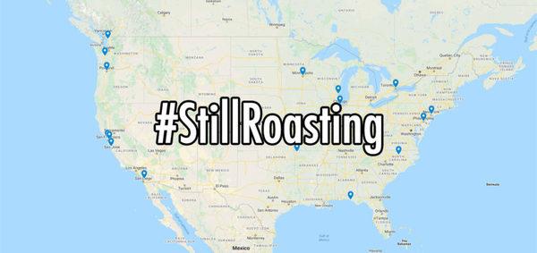 #StillRoasting Coffee Map