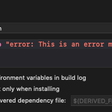Emitting Errors And Warnings In Xcode Run Script Phase