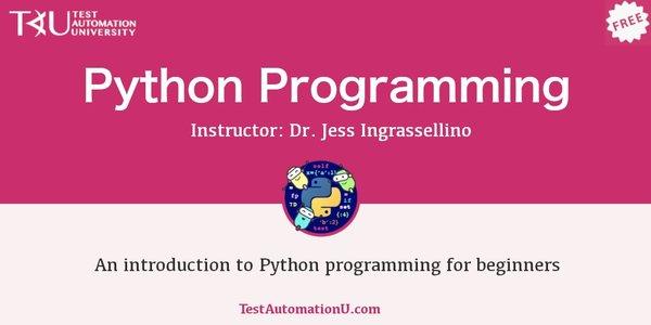 Python Programming by Jess Ingrassellino