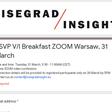RSVP V/I Breakfast ZOOM Warsaw, 31 March
