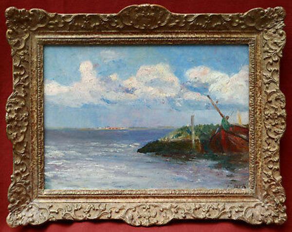 Détails sur Maurits Joseph NIEKERK tableau paysage Hollande Pays-Bas peintre néerlandais art