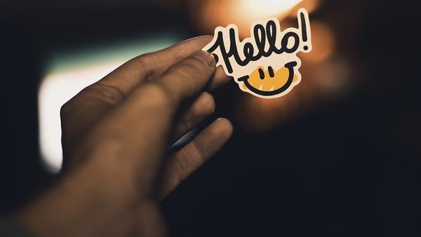 Hello 👋 - Credit: Vladislav Klapin on Unsplash