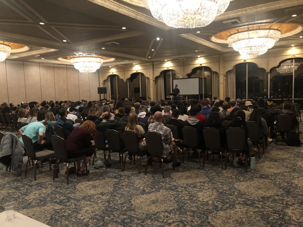 We had over 200 people attend the first ever WestCo! PRAISE GOD!