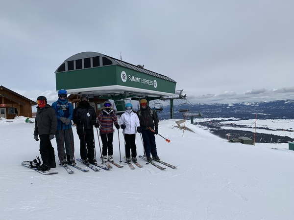 A few others went skiing!
