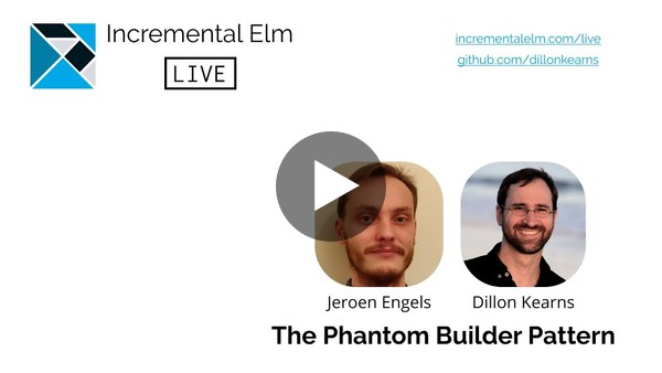 The Phantom Builder Pattern by Dillon Kearns and Jeroen Engels