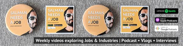 #SalmanNeedsAJob - a podcast about jobs