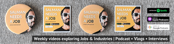 #SalmanNeedsAJob - a podcast about jobs