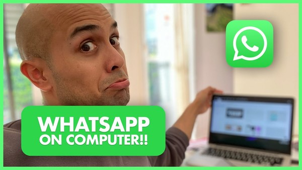 WhatsApp on Your Computer (Online teacher trick - Faster chats)