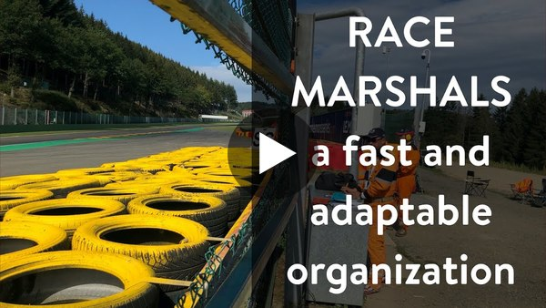 Formula X: a fast and adaptable organization: learning from race marshals (vlog #4)
