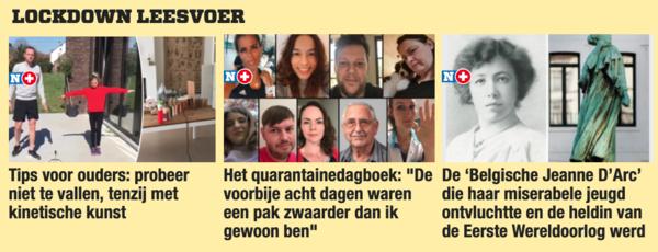 'Lockdown Leesvoer' op Nieuwsblad.be