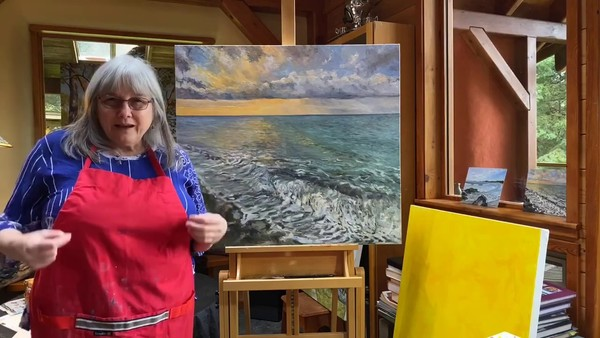 Contemporary Landscape Painter Terrill Welch Introducing Hope For A New Day