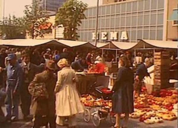 Markt Zaandam 50 jaar geleden (filmpje 1970) | De Orkaan