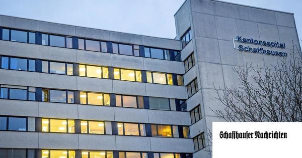 Das Schaffhauser Kantonsspital befürchtet ein Millionenloch