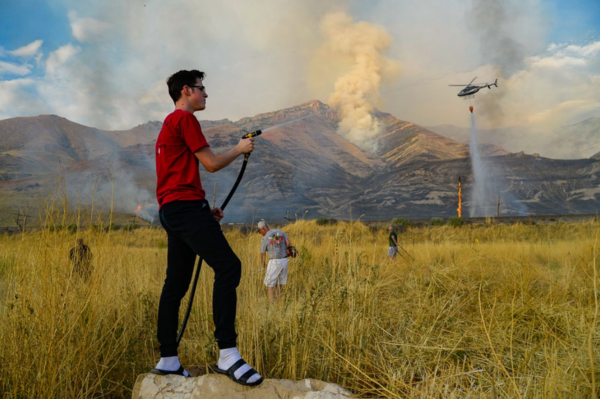 Prescribed burns are canceled in Utah and across the West as coronavirus meets wildfire season