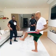 Ayew brothers deliver the best 'stay at home challenge'